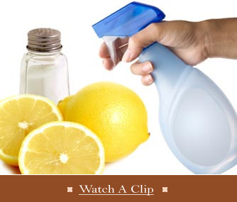 Tips for green cleaning - Watch a Clip